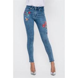 Модные джинсы по щиколотку