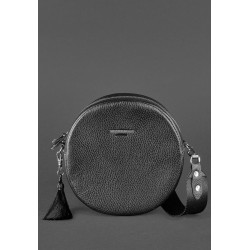 Круглая сумочка оникс