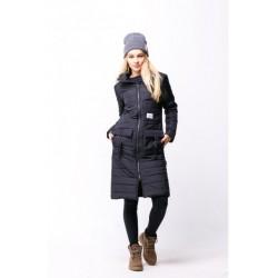 Женская осенняя куртка чёрная
