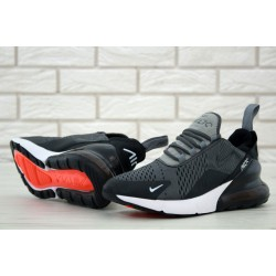 Кроссовки Nike Air Max 270  black gray