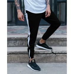 Спортивные штаны с белыми лампасами