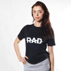Женская футболка RAD Black