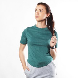 Женская футболка Green