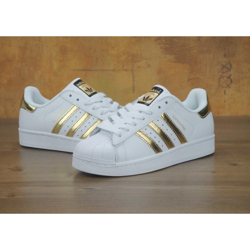 8a9ec06d Кроссовки Adidas Superstar Gold White купить в Украине: Киев ...