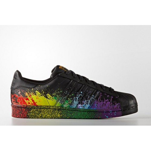 Кроссовки Adidas Superstar Paint Black