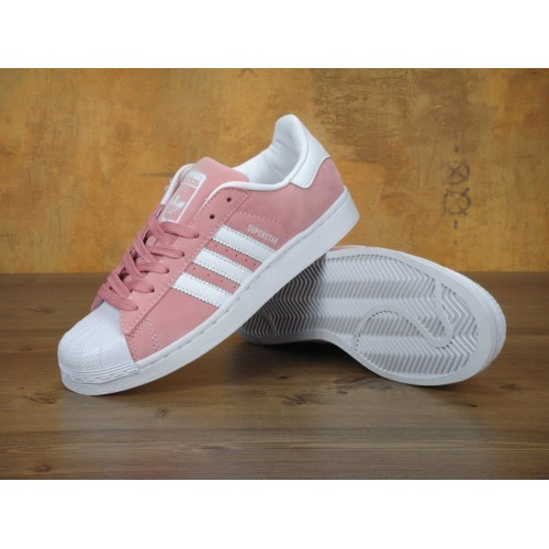 Кроссовки Adidas Superstar Pink White