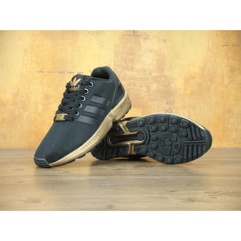 reputable site 947d5 40fdf Кроссовки Adidas ZX Flux Women's Copper Metallic