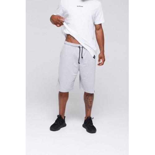Мужские хлопковые шорты серые