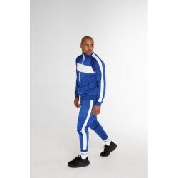 Спортивный костюм с лампасами синий
