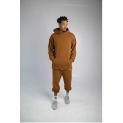 Спортивный костюм оверсайз коричневый Hi Mate