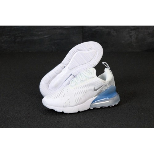 Кроссовки Nike Air Max 270 White with blue