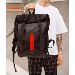 Рюкзак Ролл топ чёрный