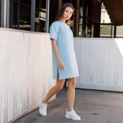 Удлиненная футболка женская