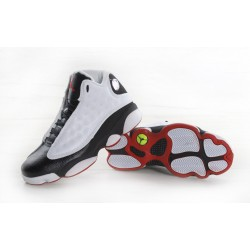 Nike Air Jordam 13 Black White Red