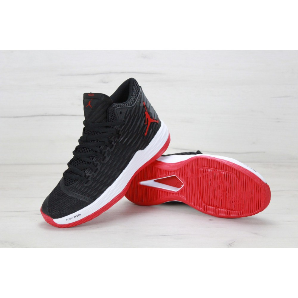 best website 80a54 6bb98 Нет в наличии Nike Air Jordan Melo M13 Black Red White