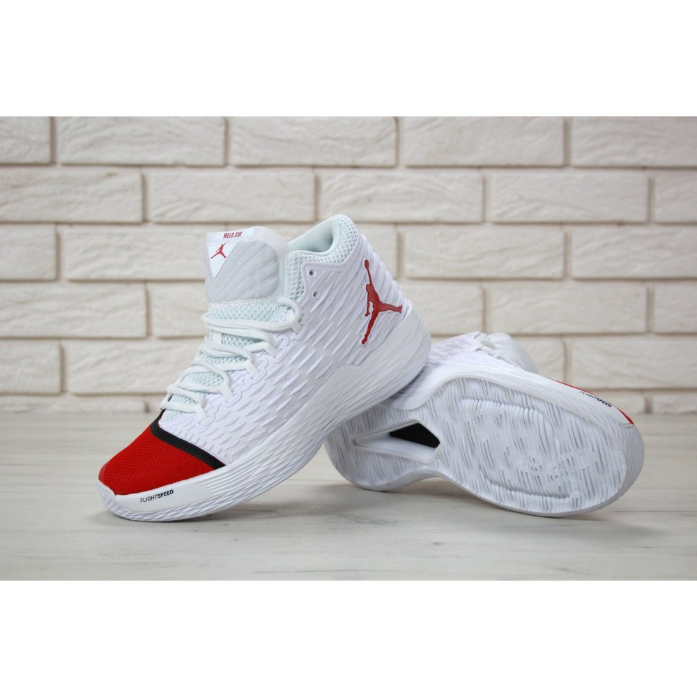 a3662d2fa06ec2 ... new high quality 4ef27 2ef75 Nike Air Jordan Melo M13 Red White ...