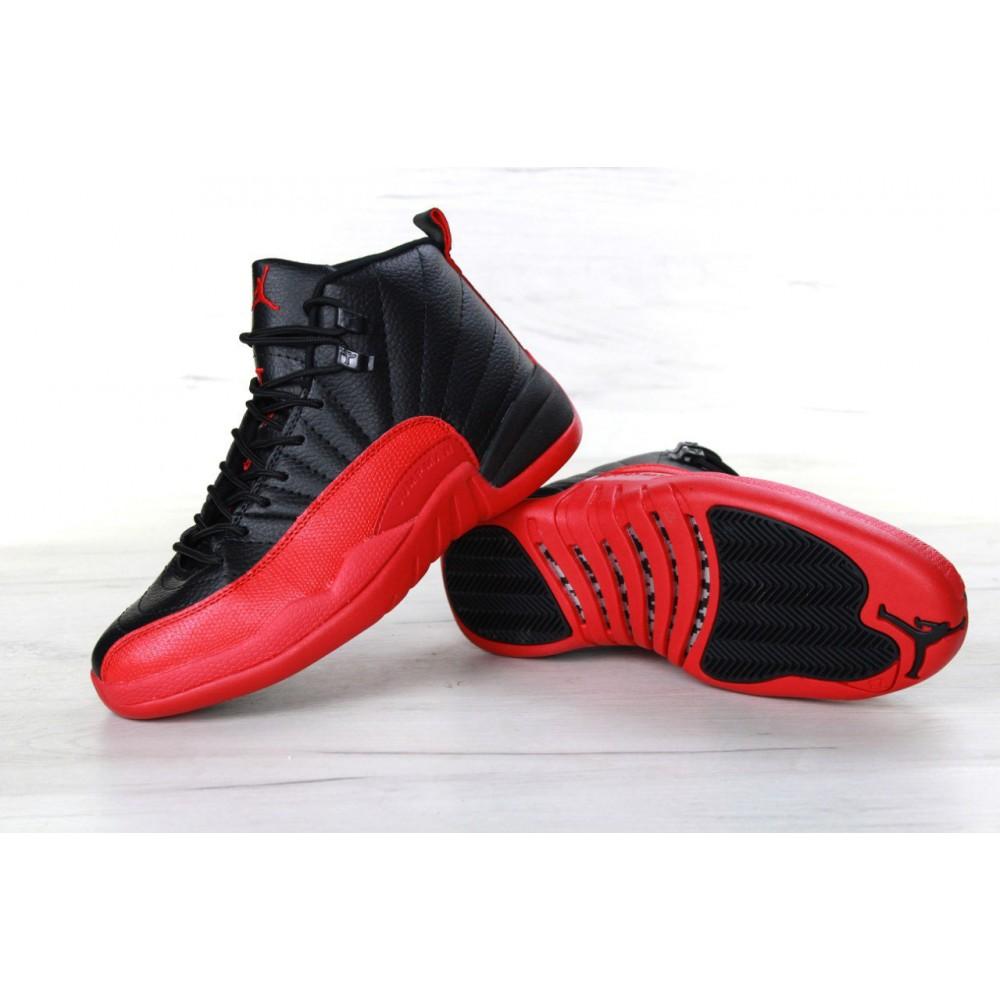 7d8adc2f71ec Nike Air Jordan Retro 12 XXI Black Red купить в Украине: Киев ...
