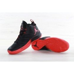 Nike Air Jordan Super Fly 5 Black Red