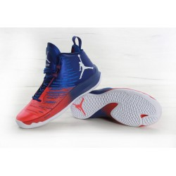 Nike Air Jordan Super Fly 5 Red Blue White