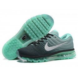 Nike Air Max Flyknit 2017  Black Mint Green