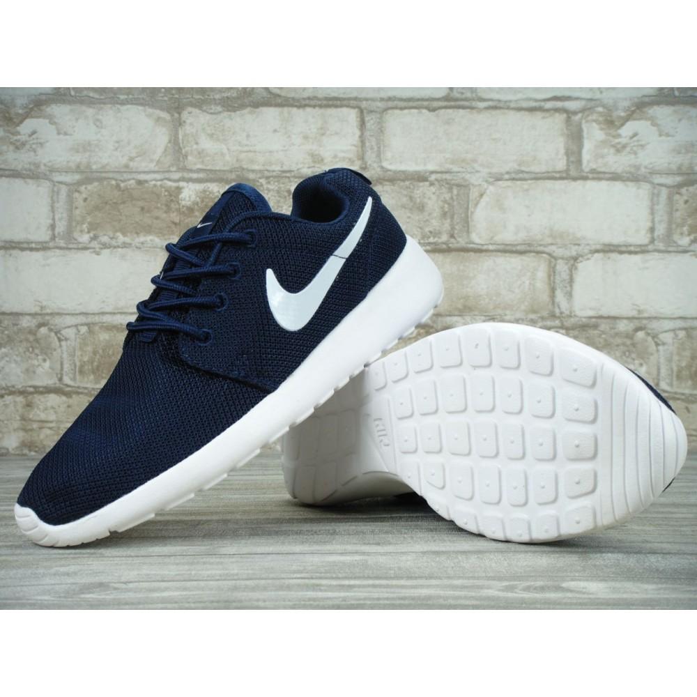 le dernier cb04f 72389 Nike Roshe Run Blue White