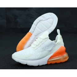 Кроссовки Nike Air Max 270 White Orange