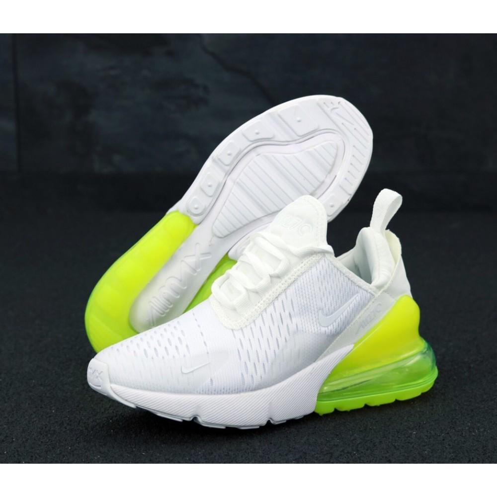 8eb12a0f Женские кроссовки Nike Air Max 270 White lemon купить в Украине ...