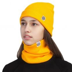 Шапка жёлтая