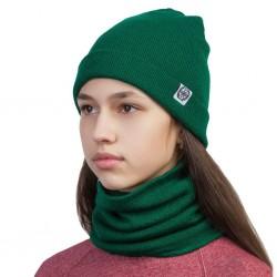 Шапка зелёная