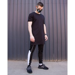 Футболка Long чёрная