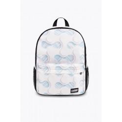 Рюкзак белый с узорами