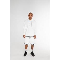 Длинные шорты белые