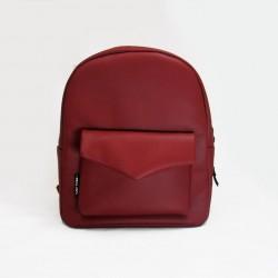 Бордовый рюкзак