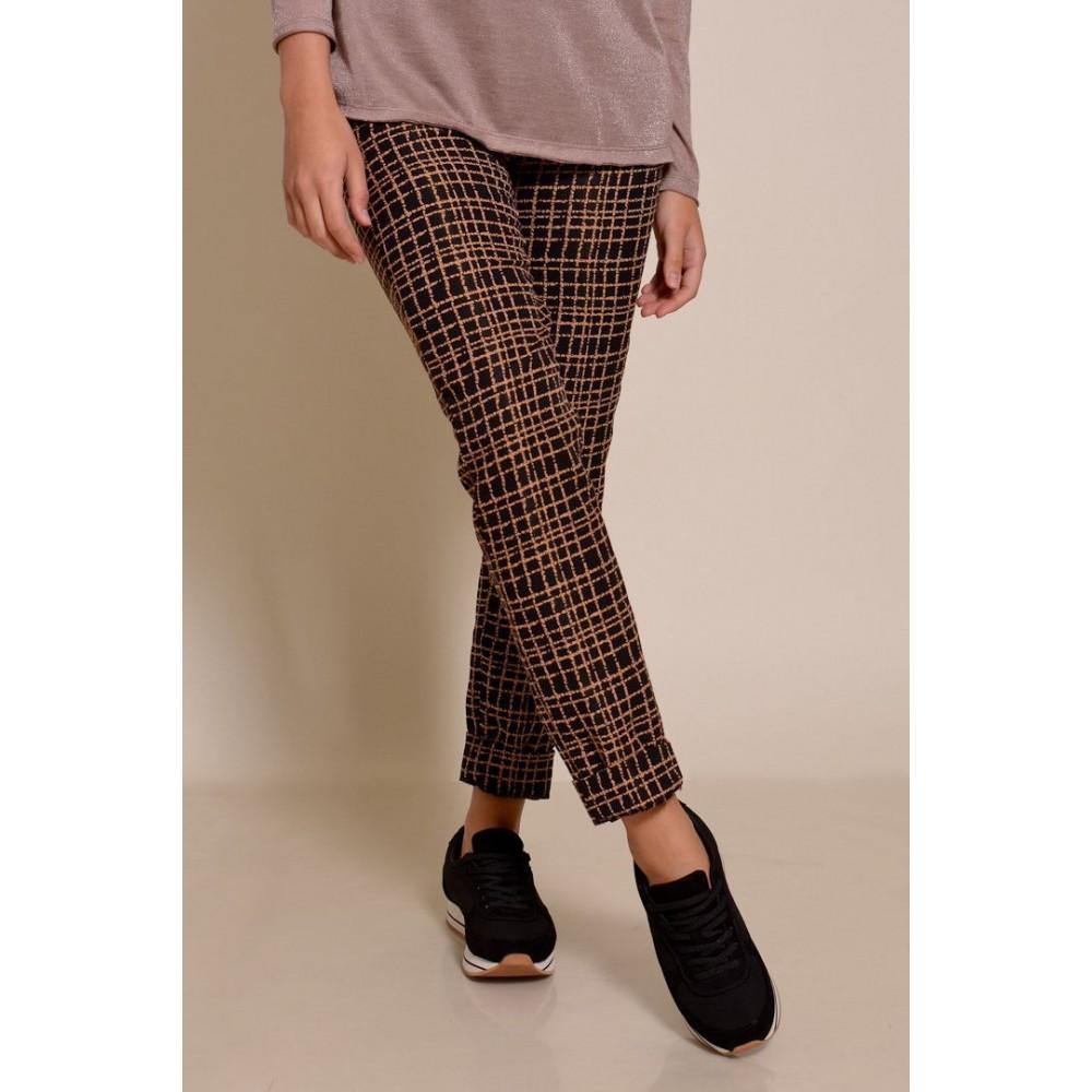 Купить брюки в клетку женские