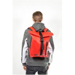 Рюкзак Roll Top красный