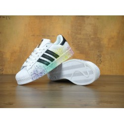 Кроссовки Adidas Superstar White Color Mix