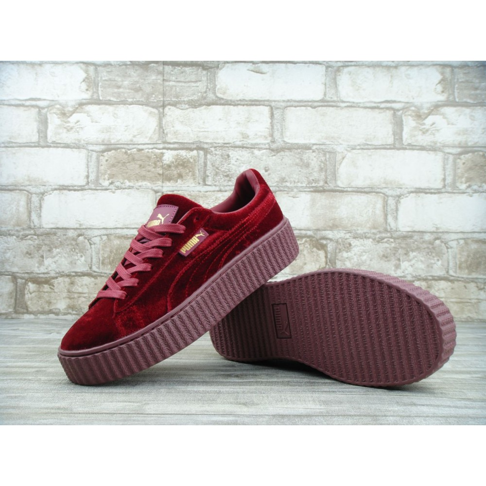 new style 9dab0 a0b6a Puma Fenty by Rihanna Velvet Creeper ROYAL PURPLE