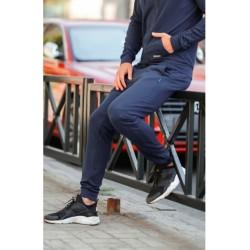 Темно синие спортивные штаны