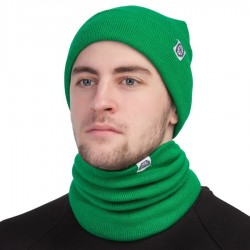 Шапка светло-зелёная