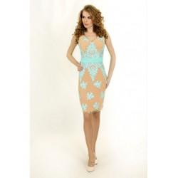Элегантное миди-платье