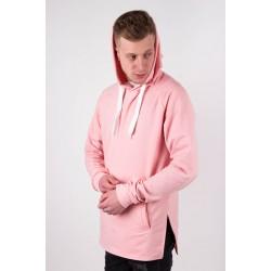 Розовое худи мужское
