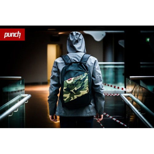 Рюкзак Punch Black-Camo