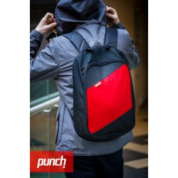 Рюкзак PUNCH Black-Red