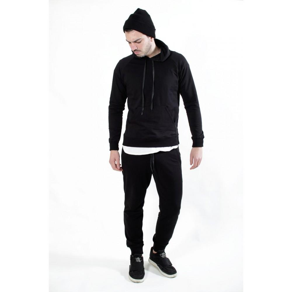 dd198a9e254 Спортивный костюм мужской чёрный купить в Украине  Киев
