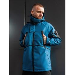 Куртка на осень голубая