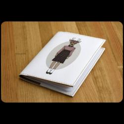 Обложка для паспорта Hipster Girls + блокнотик