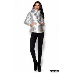 Куртка серебряная