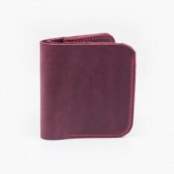 Классический кошелек марсалового цвета