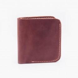 Классический кошелек кирпичного цвета