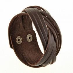 Браслет Косичка Шоколад
